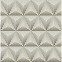 Elementto Geometric Design Modern 3D Wallpaper for Walls - td31000, beige