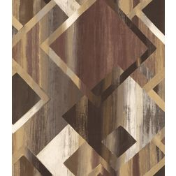 Elementto Wallpapers Geometric Design Home Wallpaper For Walls, brown