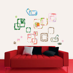 Wall Decals TC Abstract Squares