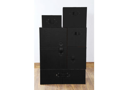 Wardrobe Style Storage Box Set, ST 129, wardrobe style storage box set