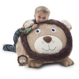 Jungle King Kids Bean bag Cover -MGB1156, beige