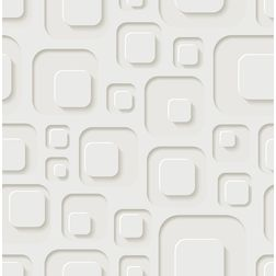 Elementto Creative Geometric Design Modern 3D Wallpaper for Walls - td31800, beige
