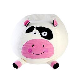 Cow Bean Bag Cover -BB33, pink