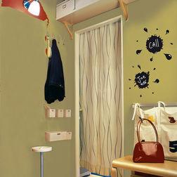 Children Wall Stickers Home Decor Line Ink Splash - 54403