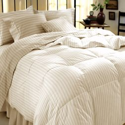 Satin Bed sheet 600 Thread Count with Two Pillowcovers, 100% Cotton, double, cream