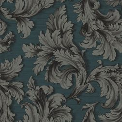 Elementto Wall papers Floral Design Home Wallpaper For Walls, green, et30000 grey