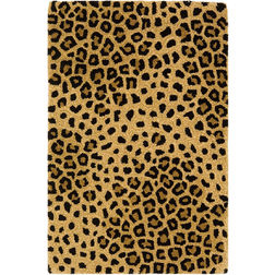 Floor Carpet and Rugs Hand Tufted AC Concept Abstract Brown Carpets Online - A1-39-L, 3ftx5ft, brown