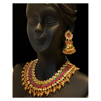 vrudev_ jewels Kundan set