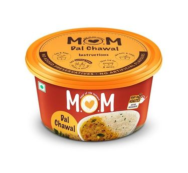 Dal Chawal (Serves 1) 90g, Ready to eat meal, MOM Meal of the Moment