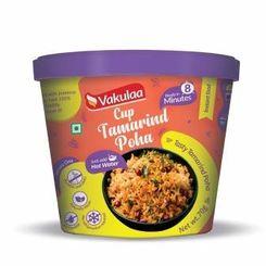 Cup Tamarind Poha (Serves 1) 70g, Ready to eat meal, Vakulaa