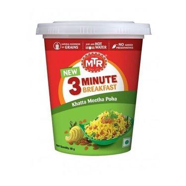 MTR Khatta Meetha Poha Cup (Serves 1)