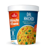 Dal Khichdi (Serves 1) 60g, Haldirams Minute Khana, Ready to eat