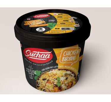 Chicken Biryani (Serves 1) 87g, Ready to eat meal, Suchaa