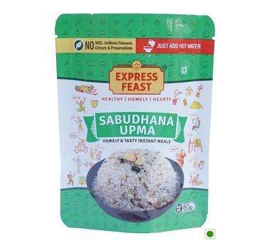 Sabudhana Upma (Serves 1) 80g, Ready to eat meal, Express Feast