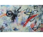 Shine India Abstract Painting on Canvas, small, multicolor