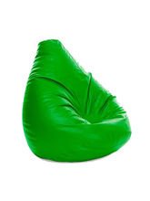 Mehdi Bean Bag Filled With Beans, green, xl