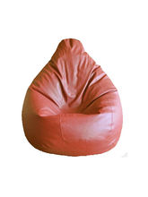 Mehdi Bean Bag Filled With Beans, tan, xxl