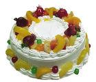 Meandmycake Fresh Fruit Regular Cake (MAMCR042), 1 kg, normal delivery