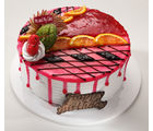 Meandmycake Strawberry Fruity Delight (MAMCP069), midnight delivery, 2 kg