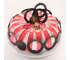 Meandmycake Love Me With Strawberry (MAMCP021), midnight delivery, 5 kg