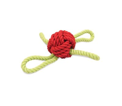Pet Brands UK Marine Sailors Knot Rope Dog Toy, universal