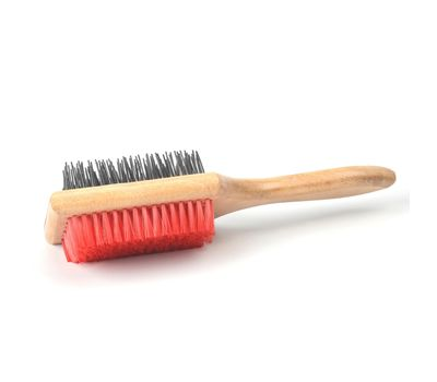 Kennel Two Sided Square Grooming Brush, large, regular