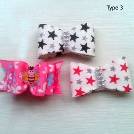 Puppy Love Premium Hair Bows for Pets, type 3, assorted