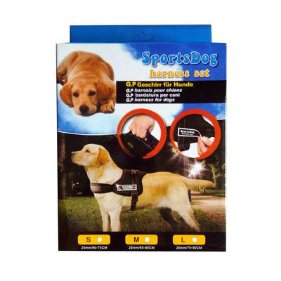 GP Padded Sports Reflective Dog Harness for Medium Dogs, camouflage, medium