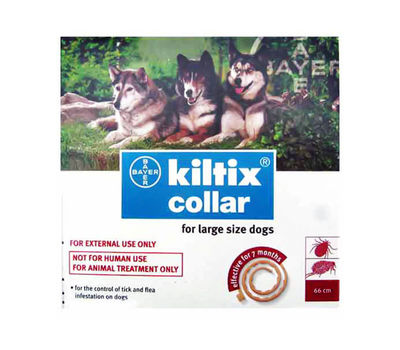 Bayer Kiltix Ticks and Fleas Collar, large size dogs