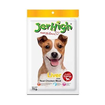 JerHigh Liver Stick Dog Treat, pack of 1