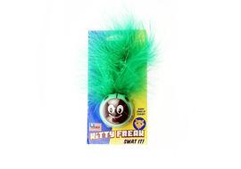 Petsport USA Kitty Freak Ladybug CatNip Toy, green