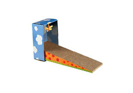 Petstages Kitty Scratching Cat Ramp, 20  x 11