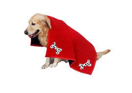 Zorba Designer Premium Large Winter Blanket, cherry red, large