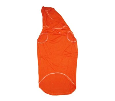 Zorba Designer Cotton Hoodie for Medium Dogs, orange, 24 inch