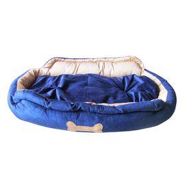 Designer High Quality Faux Suede Pet Bed, medium
