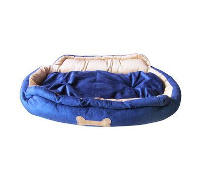 Designer High Quality Faux Suede Pet Bed, medium