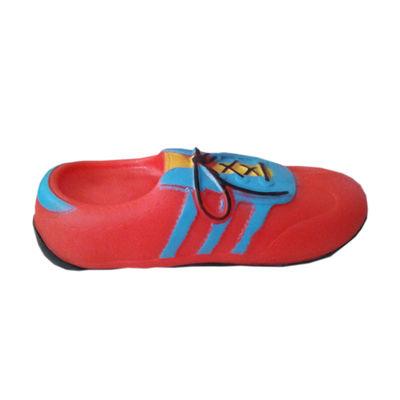 Karlie Vinyl Shoes Squeaker Dog Toy, red