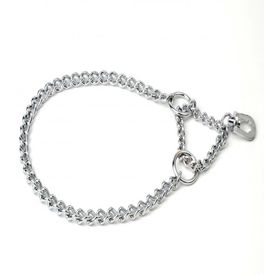 Kennel Single Semi Choke Chain for Small and Medium Dogs, 14 inch