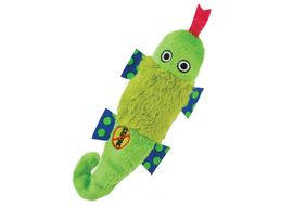 Petstages USA Stuffing Free Lizard Petite Squeaky Toy, green