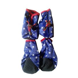 Puppy Love Waterproof Rain Shoes for Small Breed Dogs, blue