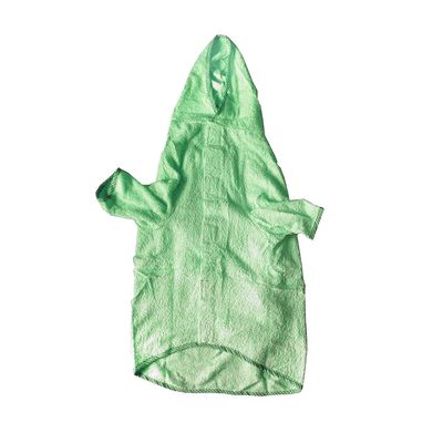 Zorba Designer Bathrobe for Dogs, green, 16 inch