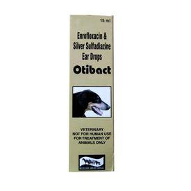 Otibact Ear Drops for Dogs, 15 ml