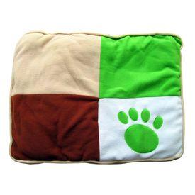 Canine Designer Fleece Plush Warm Foam Mattress for Small Dogs, 24 x 18 inch