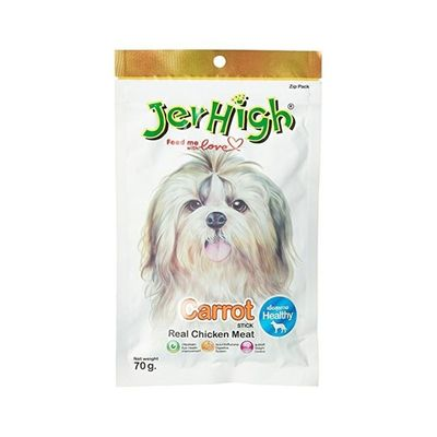 JerHigh Carrot Stick Dog Treat, pack of 1