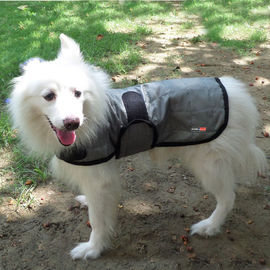 Hydro Kyle Dog Cooling Coat for Medium Breed Dogs, silver grey, medium