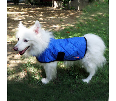 Hydro Kyle Dog Cooling Coat for Large Breed Dogs, blue, large