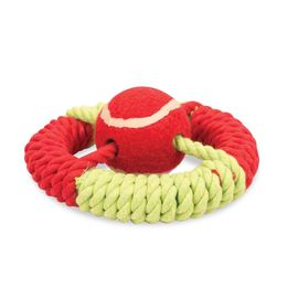 Pet Brands UK Marine Captains Wheel Rope Dog Toy, universal