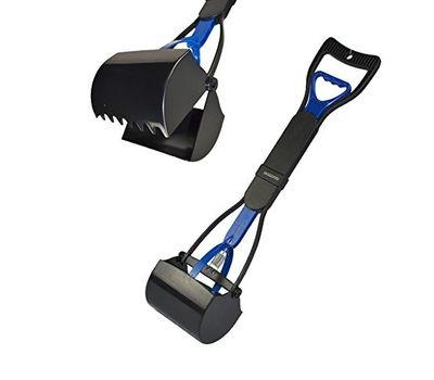 Super Dog Foldable Super Potty Scooper, black blue