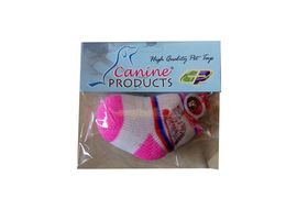 Canine Teaser Socks with Elastic String Bell Cat Toy, 9 cm