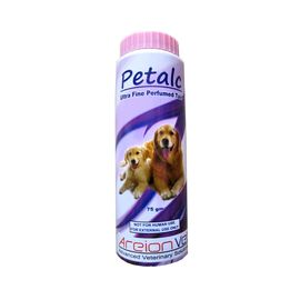 Petalc Fine Perfumed Talc for Pets, 75 gms